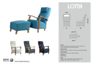 Lotta lenestol | Bo Senteret AS